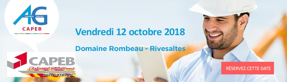 Assemblée Générale de la CAPEB 2018 au Domaine Rombeau Rivesaltes