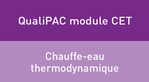 Formation chauffe eau thermodynamique ceti upa66 for Maison de l artisan