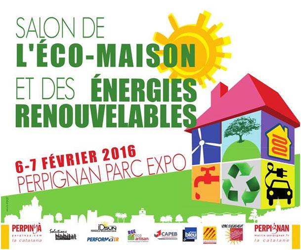 Capeb eco artisans salon de l 39 eco maison et des for Salon energie renouvelable