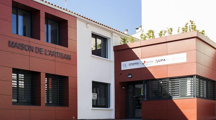 Bâtiment UPA66 - Maison de l'artisan