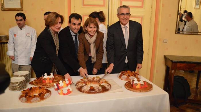 Hermeline Malherbe, Emmanuel Castro, Josiane Chevalier et Jean-Marc Pujol