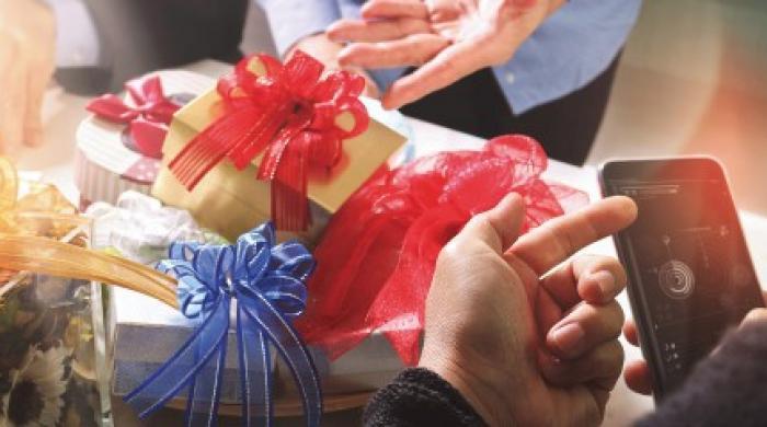 cadeaux de fin d'