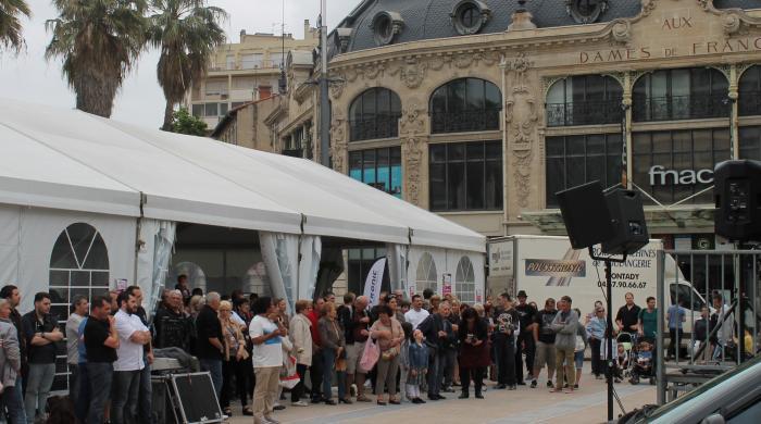fête du pain devant les dames de France Perpignan