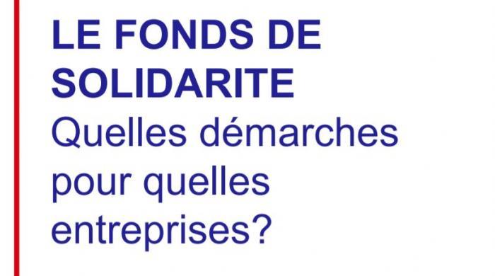 Fonds de solidarite TPE