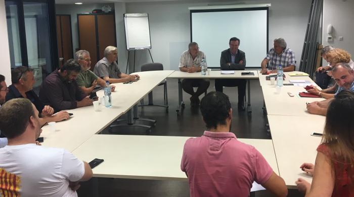 Romain Grau LREM et les élus artisans UPA