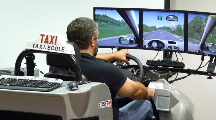 Simulateur de taxi