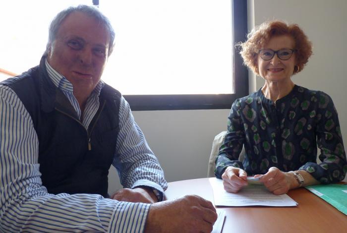 Cathy Lair et Robert Bassols UPA66 artisans perpignan cma