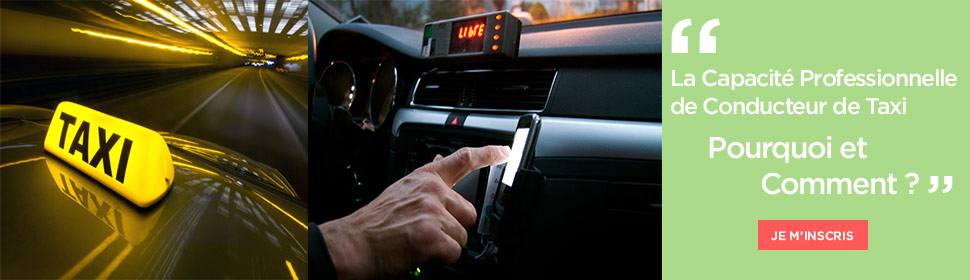 La Capacité Professionnelle de Conducteur de Taxi